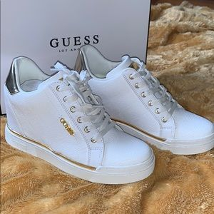 Never Worn Guess Flowurs Sneakers